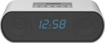 Radio cu ceas Blaupunkt BT15CLOCK Silver Ceasuri si Radio cu ceas
