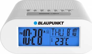 Radio cu ceas desteptator Blaupunkt CR3 Alb
