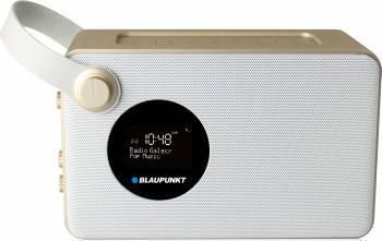 Radio cu ceas Blaupunkt PP16DAB Gold-White Ceasuri si Radio cu ceas