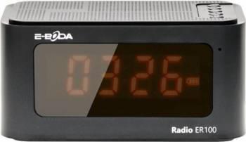 Radio cu ceas digital E-Boda ER100 Negru Ceasuri si Radio cu ceas
