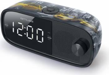 Radio cu ceas MUSE M-168 NY Negru Ceasuri si Radio cu ceas