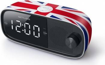 Radio cu ceas MUSE M-168 UK Negru Ceasuri si Radio cu ceas