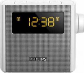 Radio cu ceas Philips aj4300w/12 Argintiu Ceasuri si Radio cu ceas