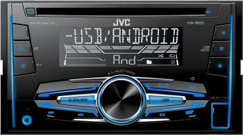 Radio MP3 Player Auto JVC KW-R520 USB AUX Player Auto