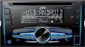 Radio MP3 Player Auto JVC KW-R520 USB AUX Player Auto