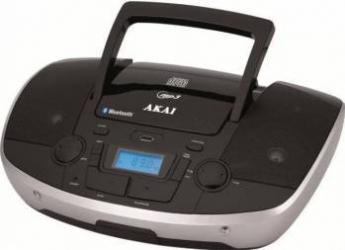Radio portabil AKAI APRC-108 6W CD MP3 Negru Sisteme Audio