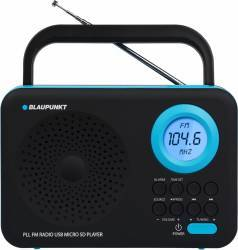 Radio portabil Blaupunkt PP12BK Black Ceasuri si Radio cu ceas