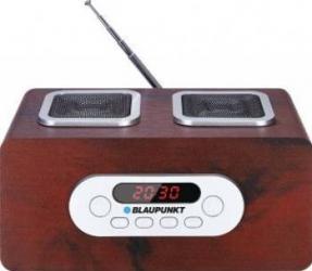 Radio portabil Blaupunkt PP5BR Brown 6W USB SDHC MP3 Ceasuri si Radio cu ceas