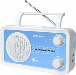 Radio Portabil Muse M-05 BL Analog Ceasuri si Radio cu ceas