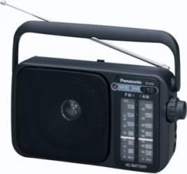 Radio portabil Panasonic RF-2400EG9-K FM AM Ceasuri si Radio cu ceas
