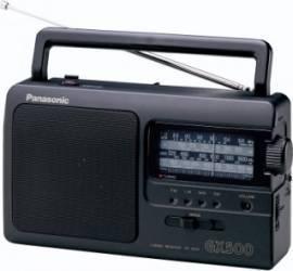 Radio portabil Panasonic RF-3500E9-K FM AM Ceasuri si Radio cu ceas