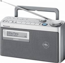 Radio portabil Panasonic RF-U350EG-S FM Ceasuri si Radio cu ceas