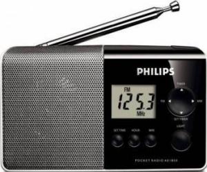 Radio portabil Philips AE1850-00 Black-Silver Ceasuri si Radio cu ceas