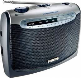 Radio portabil Philips AE216000C Silver Ceasuri si Radio cu ceas