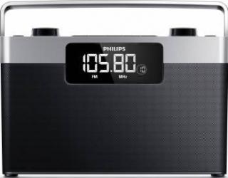 Radio portabil Philips AE243012 Black Ceasuri si Radio cu ceas