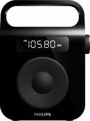 Radio portabil Philips AE2600B12 Black Ceasuri si Radio cu ceas