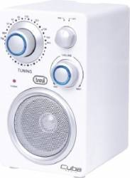 Radio Portabil Trevi Cuba RA 742 T  Alb Ceasuri si Radio cu ceas