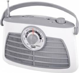 Radio Portabil Vintage Trevi RA 763 Alb Ceasuri si Radio cu ceas