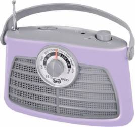 Radio Portabil Vintage Trevi RA 763 Mov Ceasuri si Radio cu ceas
