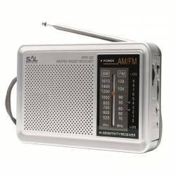 Radio portabil AMFM semnal LED consum redus Sal Ceasuri si Radio cu ceas