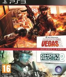 Pachet 2in1 Rainbow Six Vegas 2 si Ghost Recon 2 Advanced Fighter - PS3 Jocuri
