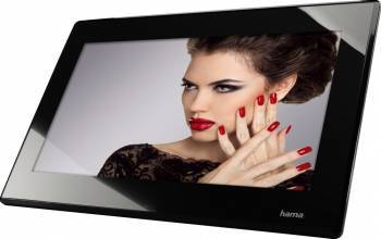 Rama foto digitala Hama 156SLPFHD 15.6 inch Full HD HDMI Slim Steel