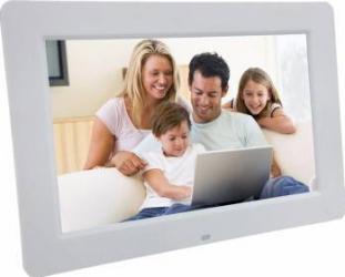 Rama foto digitala PS-DPF1308 TFT LCD de 13.3 inch cu telecomanda Alb Rame Foto