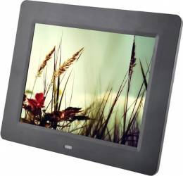 Rama foto digitala PS-DPF804 LCD de 8 inch cu telecomanda negru Rame Foto