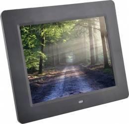 Rama foto digitala PS-DPF805 LCD de 8 inch cu telecomanda negru Rame Foto