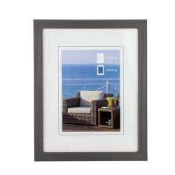 Rama foto din lemn aspect tablou 30 x 40 cm gri Rame Foto