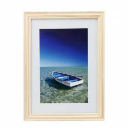 Rama foto Ocean Boat 13x18 cm lemn aspect vintage de birou natur Rame Foto