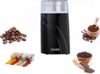 Rasnita de cafea si condimente Zass ZCG 03 200W 90g Negru Rasnite
