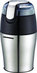 Rasnita Heinner HCG-150SS 150W Capacitate 50g Lame din Inox Argintiu Rasnite