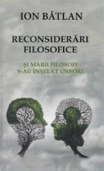 Reconsiderari filosofice - Ion Batlan