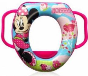 Reductor Toaleta Lorelli cu Manere Disney - Minnie Mouse Pink Olite si reductoare WC
