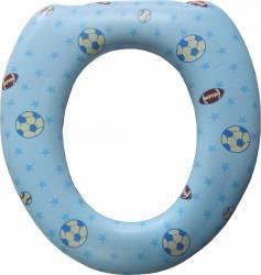 Reductor WC Primii Pasi R0839 moale cu burete Albastru Olite si reductoare WC