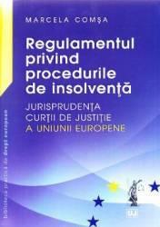 Regulamentul privind procedurile de insolventa - Marcela Comsa
