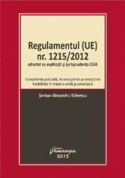 Regulamentul ue Nr. 1215 Din 2012 - Serban-Alexandru Stanescu