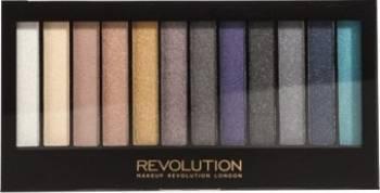 Paleta de culori Makeup Revolution London Repemption - Palette Day To Night Make-up ochi