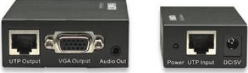 Repetor Manhattan VGA Cat 5 5e 6 Video-Audio 300m