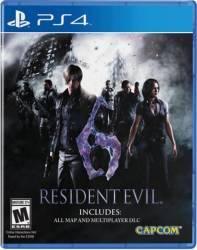 RESIDENT EVIL 6 - PS4 Jocuri