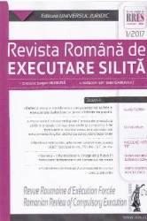 Revista romana de executare silita 1 din 2017 - Garbulet Ioan Huruba Eugen