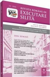 Revista romana de executare silita 1 din 2018