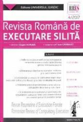 Revista romana de executare silita Nr. 4 din 2017