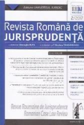 Revista romana de jurisprudenta 2 din 2017 - Gheorghe Buta Nicoleta Tandareanu