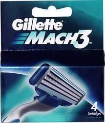 Rezerva aparat de ras Gillette Mach3 4 buc