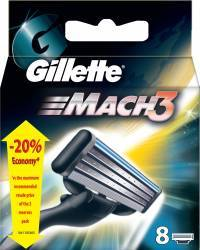 Rezerva aparat de ras Gillette Mach3 8 buc