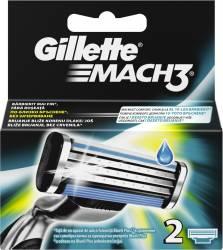 Rezerve Gillette Mach3, 2 buc Aparate de ras clasice