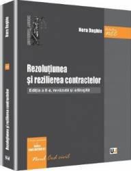 Rezolutiunea si rezilierea contractelor ed.2 - Nora Daghie title=Rezolutiunea si rezilierea contractelor ed.2 - Nora Daghie