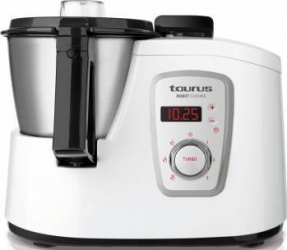 Robot de bucatarie Taurus Robot Cuisine 1600W Bol 1.5L Cutit Inox Alb Roboti de bucatarie